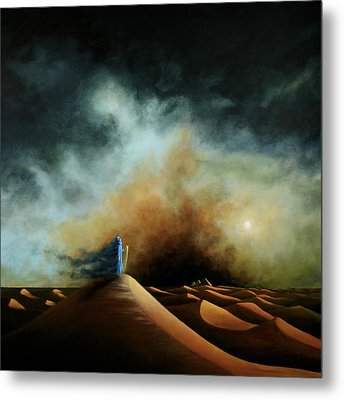 When The Boy Becomes The Wind Metal Print by Ric Nagualero