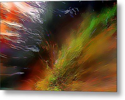 When The Light Burned Metal Print by Wernher Krutein