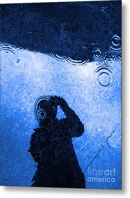 When The Rain Comes Metal Print by Robyn King