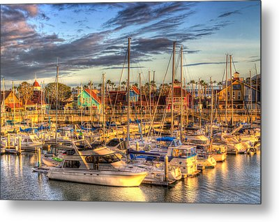 When The Sun Goes Down Metal Print by Heidi Smith