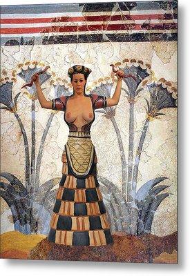 When Women Ruled Metal Print