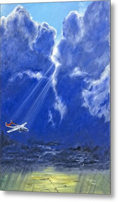 Where Angels Sing Metal Print by Karen Wilson