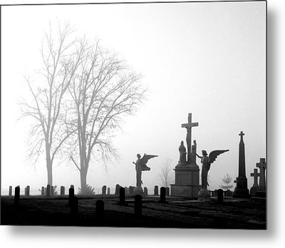 Where Angels Watch Metal Print