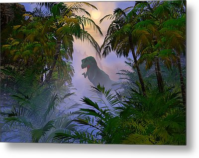 Metal Print featuring the digital art Where Are You by Claude McCoy
