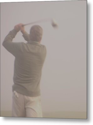 Where Did My Golf Ball Go Metal Print