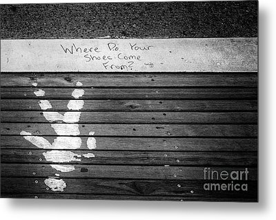 Where Do They Come From? Metal Print by John Farnan