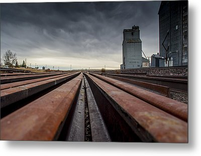 Where It Goes-2 Metal Print by Fran Riley