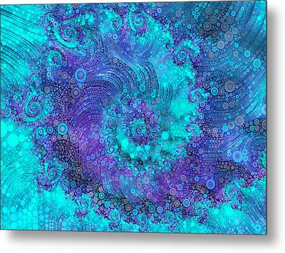 Where Mermaids Play Metal Print by Susan Maxwell Schmidt
