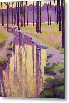 Where Nymphs Play Metal Print by Mary McInnis