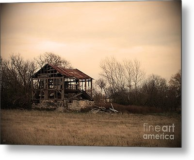 Where We Used To Play Metal Print by Debi Dmytryshyn