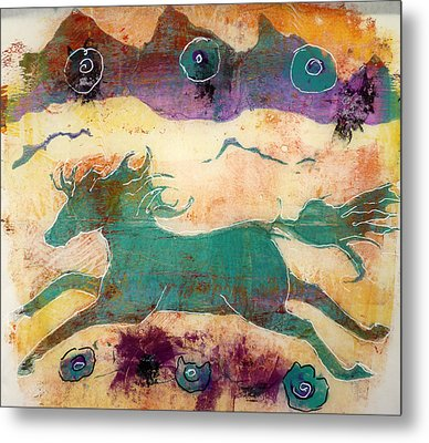 Where Wild Horses Roam Metal Print