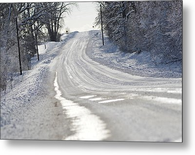 Metal Print featuring the photograph Where Will The Road Take You? by Dacia Doroff
