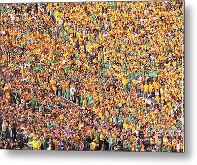 Where's Waldo Metal Print by David Bearden