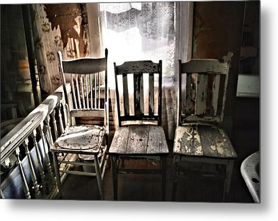 Which One Was Just Right Metal Print by Michele Richter
