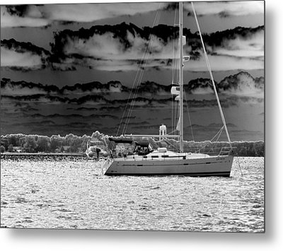 Whilst We Were Sailing Metal Print by Rick Todaro
