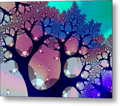 Whimsical Forest Metal Print by Anastasiya Malakhova