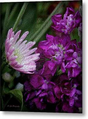 Whimsical Passion Metal Print