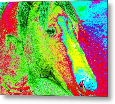 Up Close And Electrified Metal Print