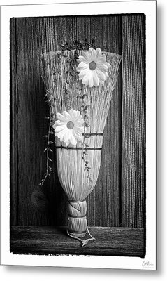 Whisk Bloom - Art Unexpected Metal Print