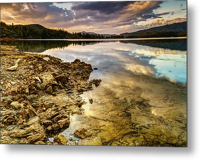 Metal Print featuring the photograph Whiskeytown Lake Reflections by Randy Wood