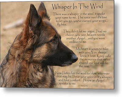 Whisper In The Wind Metal Print
