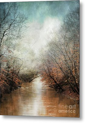 Whisper Of Winter Metal Print by Jai Johnson