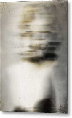 Whisper On The Neck  Metal Print by Empty Wall