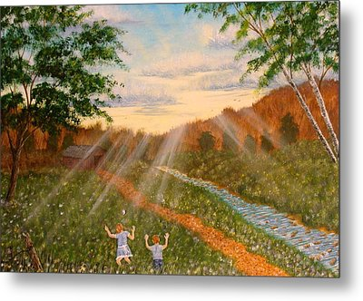 Whispers To God Metal Print by David Bentley