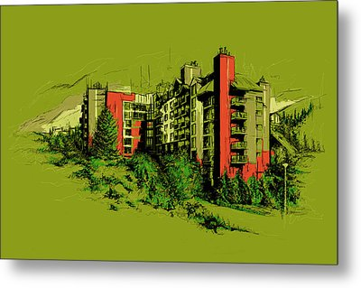 Whistler Art 003 Metal Print by Catf