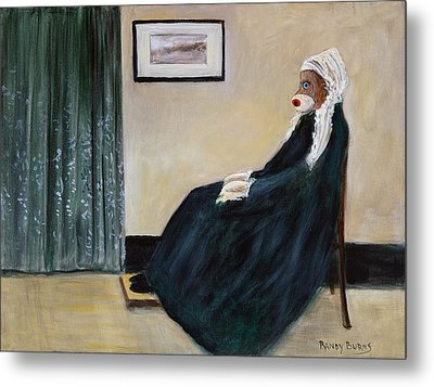 Whistlin Mother Metal Print