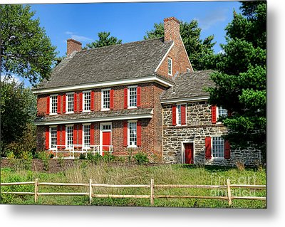Whitall House Metal Print