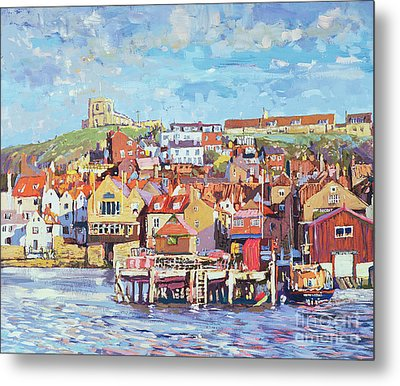 Whitby Metal Print by Martin Decent