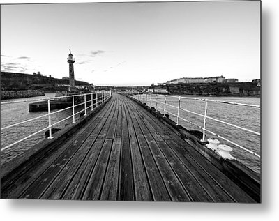 Whitby Metal Print by Stephen Taylor