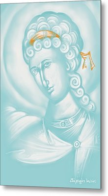 White Angel Metal Print by Julia Bridget Hayes