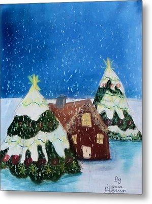 Christmasland Metal Print by Joshua Maddison