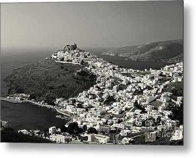 White Gems Metal Print by Aiolos Greek Collections