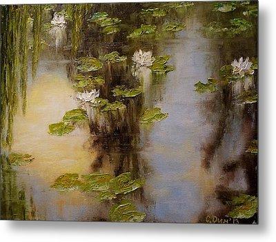 White Lilies Metal Print by Svetla Dimitrova