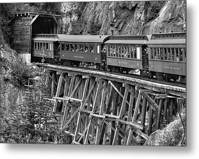 Metal Print featuring the photograph White Pass Railway by Dawn Currie