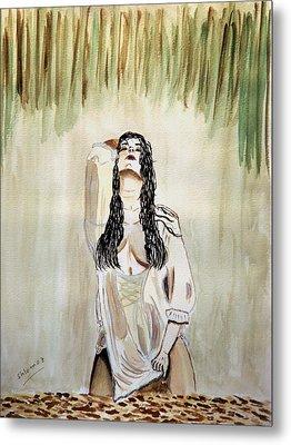 White Passion Metal Print by Shlomo Zangilevitch