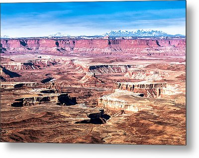 White Rim Trail Metal Print by John McArthur