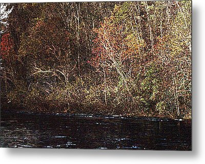 Metal Print featuring the photograph White River by Donna Smith