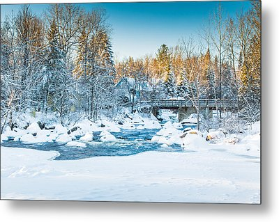 White River Metal Print