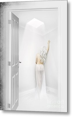 White Room Metal Print