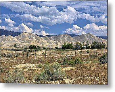 White Sand Hills Montrose Colorado Metal Print