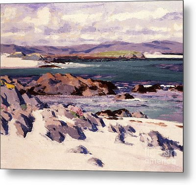 White Sands   Iona  Metal Print by Francis Campbell Boileau Cadell