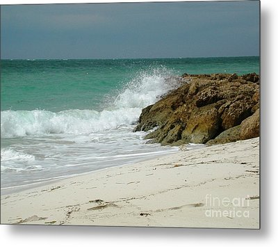 White Sands Metal Print by Judy Palkimas
