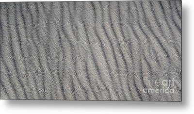 White Sands New Mexico Abstraction Metal Print by Gregory Dyer