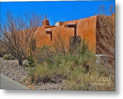 White Sands New Mexico Adobe 01 Metal Print by Gregory Dyer