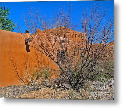 White Sands New Mexico Adobe 02 Metal Print by Gregory Dyer