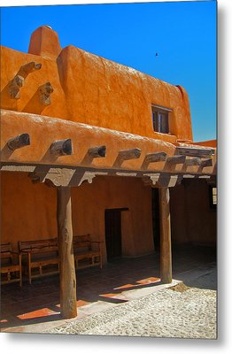 White Sands New Mexico Adobe 03 Metal Print by Gregory Dyer